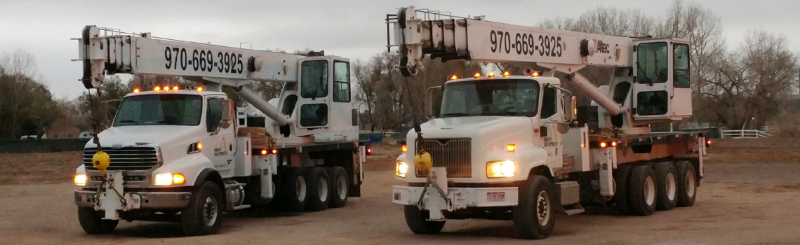 Fort Collins Crane Service New Altec Trucks