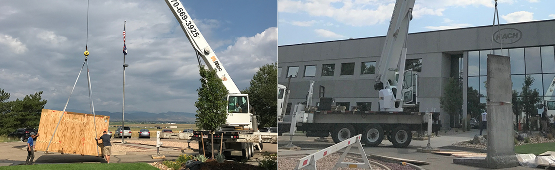 Brocc Equipment Crane Hach Berlin Wall